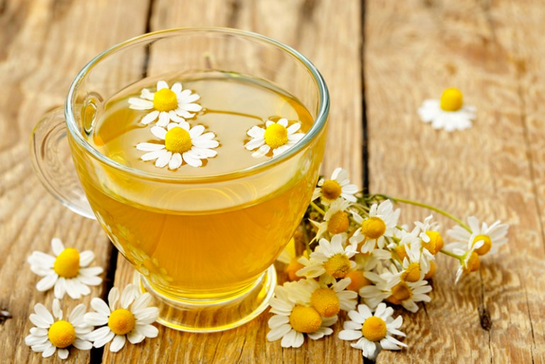 Natural Sleep Remedies Chamomile Tea