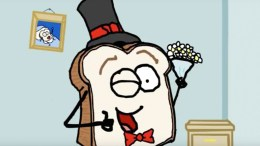 Burnt Toast Man Hot Date - Cartoon