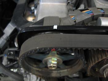 1jz vvti wiring diagram pdf 2005 honda civic headlight under the hood perfect timing belt service for toyota s photo 4 b