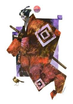 cult-stories-sergio-toppi-red-samurai-rosso-illustrazione-fumetto-artista-italy-strips-illustrations-arte
