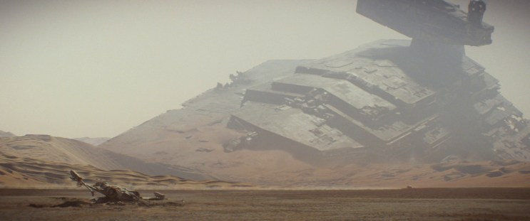 Destructor Imperial abatido