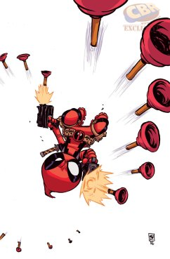 Deadpool 7 variant by Skottie Young
