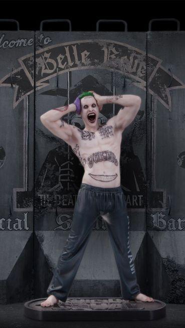 Joker, sculpted by James Marsano