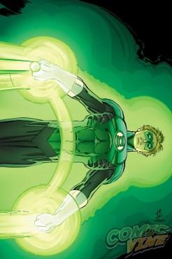 Green Lantern # 51 por John Romita Jr. y Klaus Janson