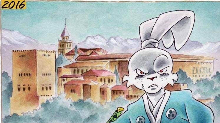 cartel Salón del cómic de Granada