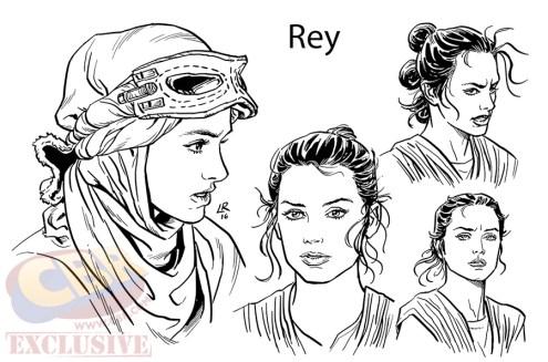 Rey, por Luke Ross