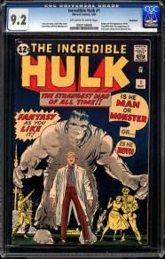 'The Incredible Hulk' #1