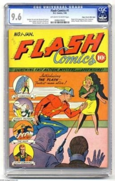'Flash Comics' #1