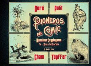 Pioneros del Cómic: Monsieur Cryptogame y otras historias portada