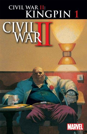 """Civil War II: Kingpin"" #1 variant cover por Esad Ribic"