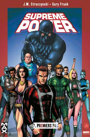 Supreme Power de Straczynski y Gary Frank