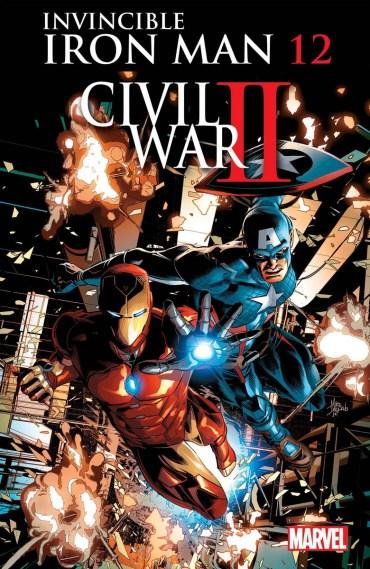 Invible Iron Man #12