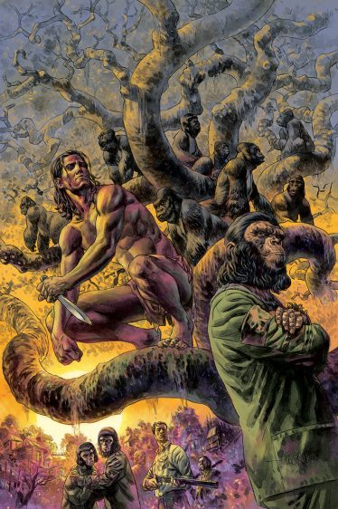 Tarzan on the Planet of the Apes #1 (of 5)