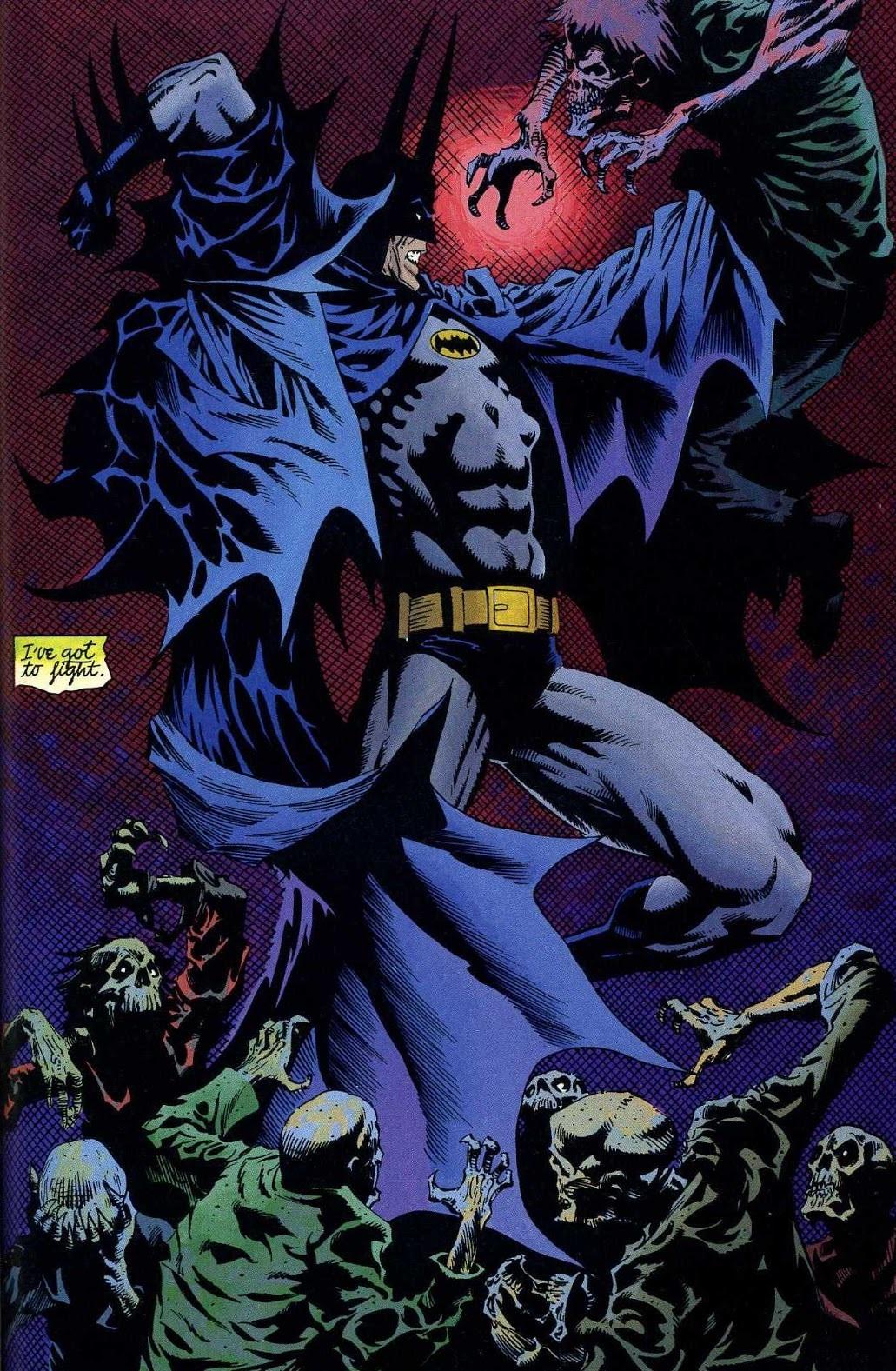 RESEÑA Batman: Vampiro, de Dough Moench y Kelley Jones - Tomos y Grapas