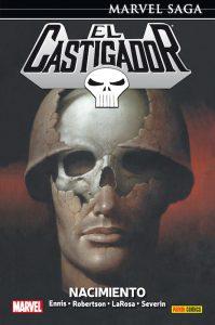 Marvel Saga: El Castigador#1. Nacimiento portada