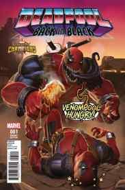 Deadpool Back in Black cover