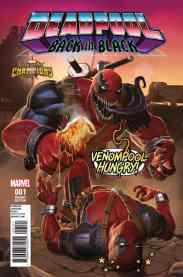 Deadpool Back in Black cover