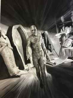 Alex Ross y los monstruos de la Universal 1