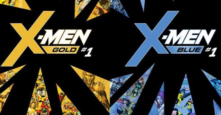 X-Men Blue y Gold