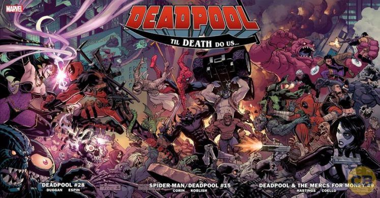 Se anuncia un Crossover entre las colecciones de Deadpool
