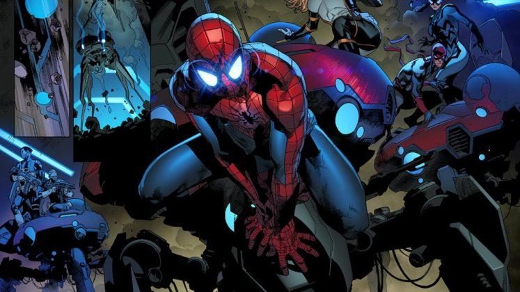 Amazing Spiderman 25, con Stuart Immonen