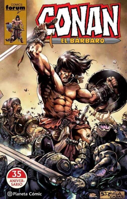35 aniversario de Planeta Conan portada Sergio Dávila