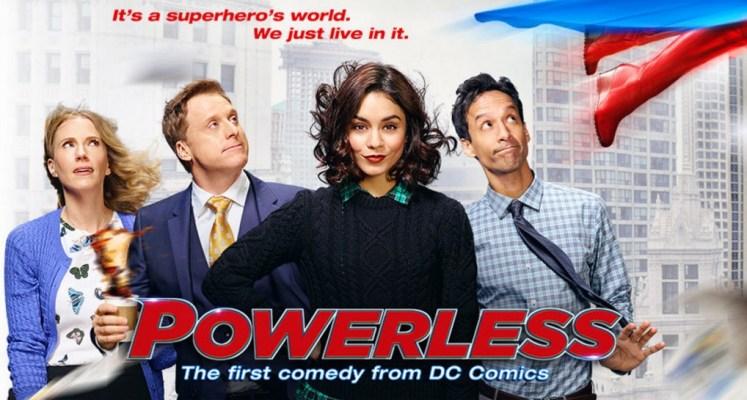 Trailers de la nueva serie televisiva Powerless