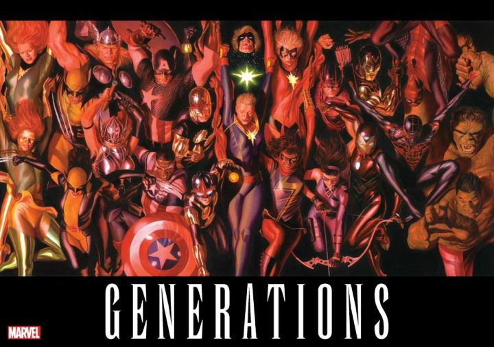 NOTICIA Marvel sorprende con un espectacular teaser de Alex Ross : Generations
