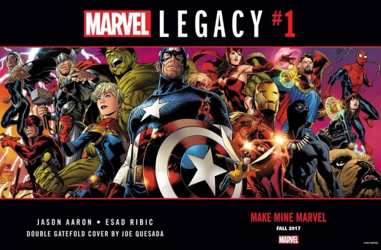 NOTICIA Marvel Legacy #1 presentará a los Vengadores del año 1.000.000 A.C.