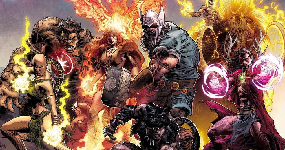 NOTICIA Los Vengadores de 1.000.000 AC volverán para el nuevo comienzo de Marvel