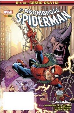 dia-del-comic-gratis-2018-panini-marvel-portada-spider-man-capitan-america-guardianes-de-la-galaxia-vengadores