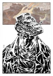 Hellboy comission BW