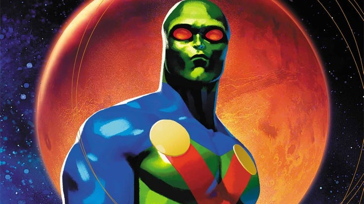 VISTAZO Martian Manhunter, de Steve Orlando y Riley Rossmo