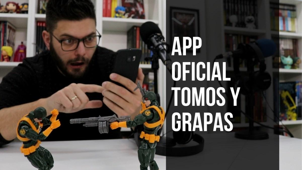 Lanzamos nuestra primera APP OFICIAL de Tomos y Grapas