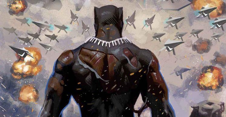 Ta-Nehisi Coates termina su etapa en Pantera Negra