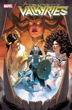 The Mighty Valkyries portada preview serie Loki y Jane Foster