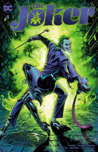Portada The Joker 1 J. Scott Campbell Variant A