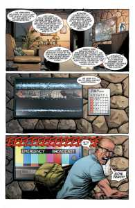Página Geiger de Geoff Johns y Gary Frank