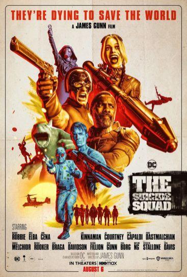 Poster Suicide Squad de James Gunn