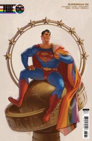 Superman #32 de David Talaski Variant DC Pride