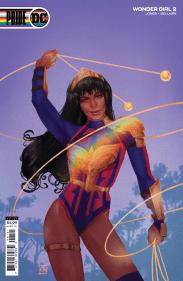 Wonder Girl #2 Pride de Kevin Wada Variant DC Pride