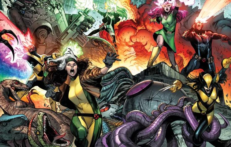 ¡Revelados los X-Men de Gerry Duggan y Pepe Larraz!
