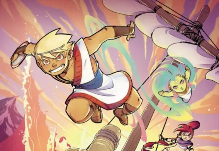 Reseña TELÉMACO 1 EN BUSCA DE ULISES de Kid Toussaint y Kenny Ruiz