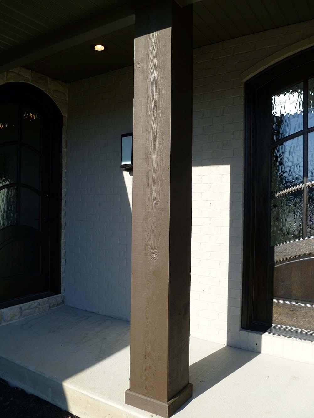columnsexterior  Custom Homes by Tompkins Construction