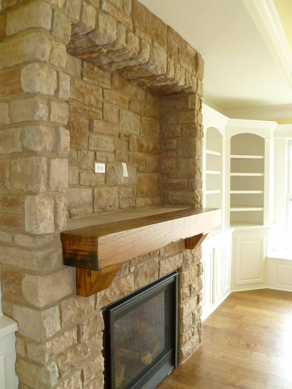 fireplacefronts  Custom Homes by Tompkins Construction