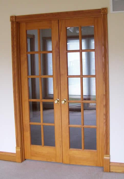 Doors Interior Custom Homes By Tompkins Construction