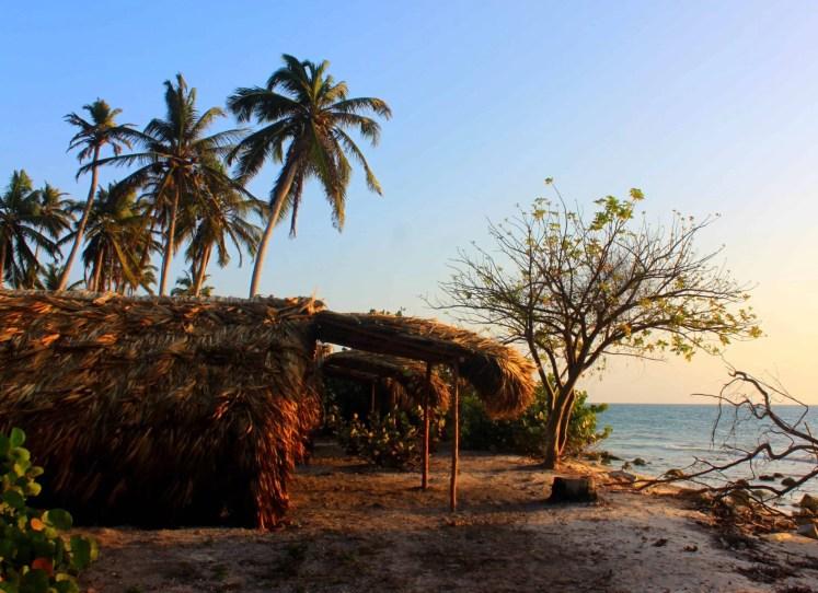 Small house on the island of Isla Mucura