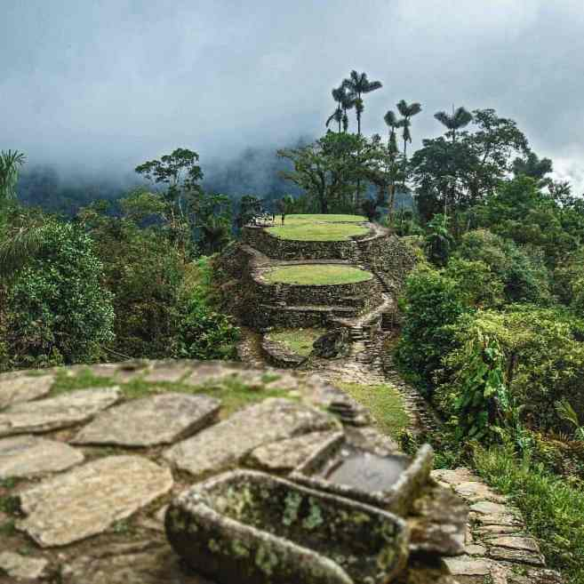 The lost city trek Backpacking in Colombia
