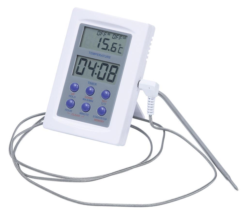 thermometre pour four avec sonde inox tom press