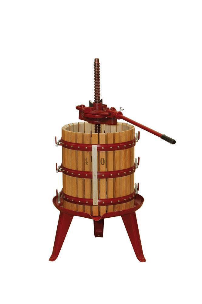Pressoir  cliquet 65 litres  Tom Press